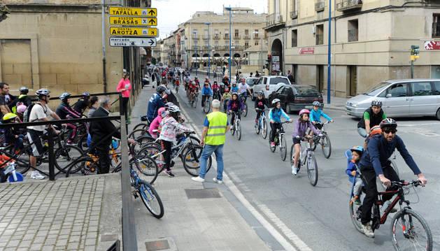 Aumento en la participación del día de la bici en su tercera edición