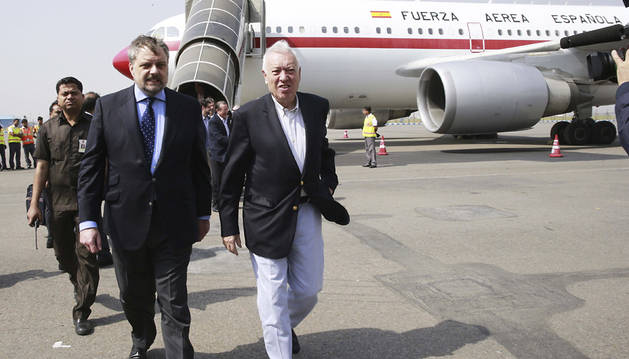 El avión de Margallo evacuará a españoles de Nepal