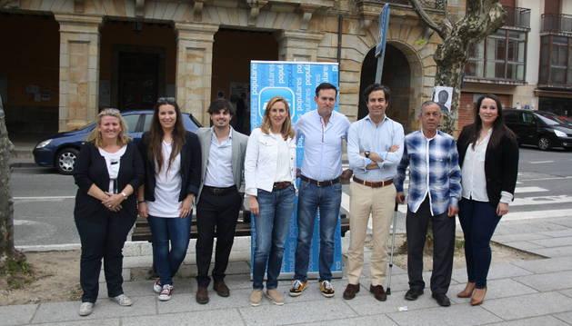 El PP presenta sus candidatos para  el norte de Navarra