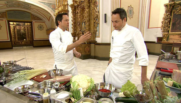 Los gemelos Torres nos cocinan el cardo rojo de Corella este martes