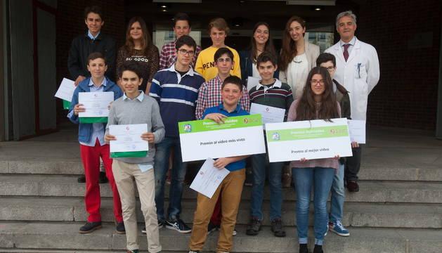 'Pepón', del colegio Orvalle de Madrid, gana los premios Nutrivideo