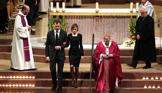 Funeral por las víctimas de Germanwings en Barcelona