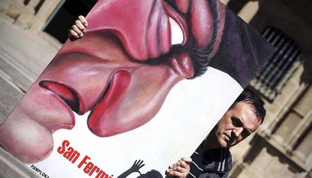 El cartel del pamplonés Javier Erice