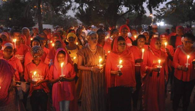 El Ejército libera a 293 mujeres y niñas secuestradas por Boko Haram