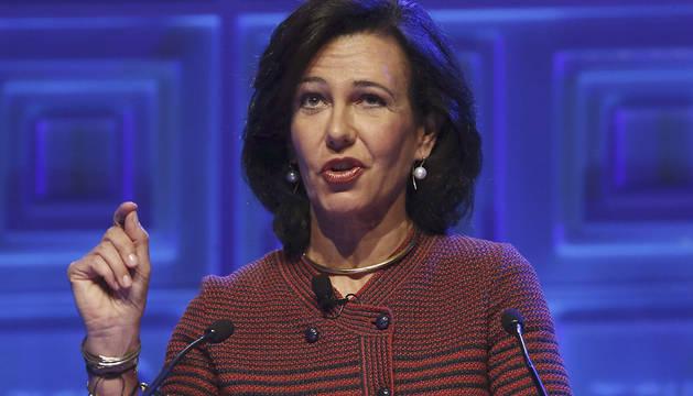 Ana Patricia Botín, presidenta del Santander.
