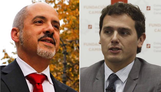 Ciudadanos no podrá pactar en Navarra sin el consentimiento de Rivera