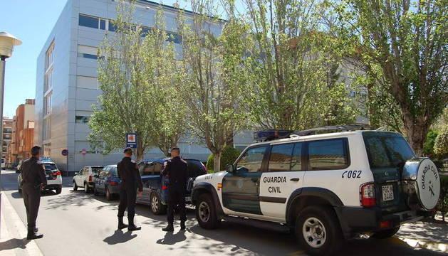 La Guardia Civil lleva a cabo un registro en el Hospital Comarcal de Amposta