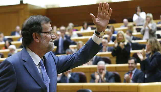 Rajoy desoye a la oposición y desea al PSOE muchos años sin gobernar