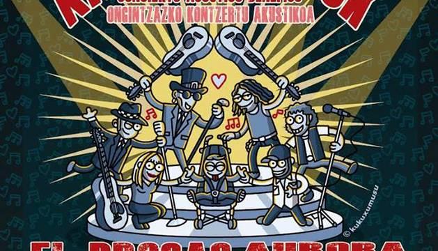 Cartel del concierto Xabitxu Rock.