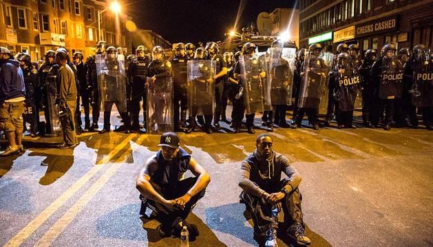 Disturbios en la ciudad de Baltimore (EE UU)