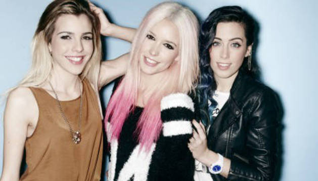 La 'girl band' Sweet California, en el Zentral Kafe