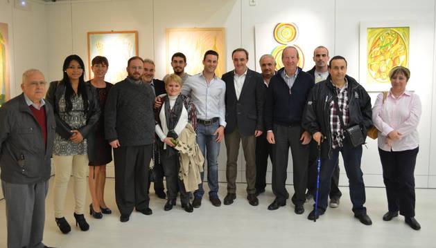 Javier Esparza mantiene un encuentro con colectivos de Villava