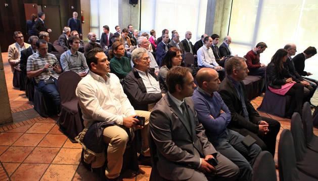 Participantes en la reunión en Tudela.