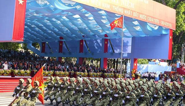40 aniversario del fin de la guerra de Vietnam