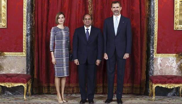 El Rey destaca la unidad de España y Egipto contra el terrorismo