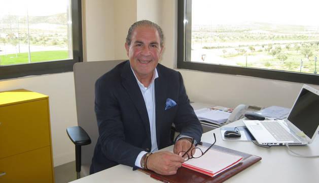 Carlos Sesma, gerente de Jamones El Volatín