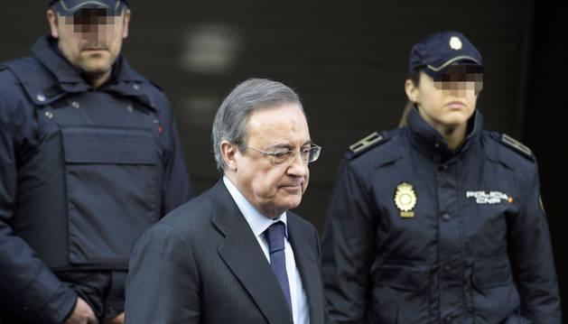 Florentino Pérez, interrogado por el juez Velasco.