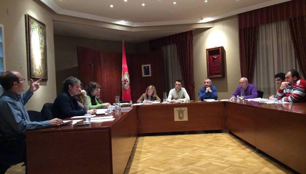 Imagen de archivo del pleno de Huarte.