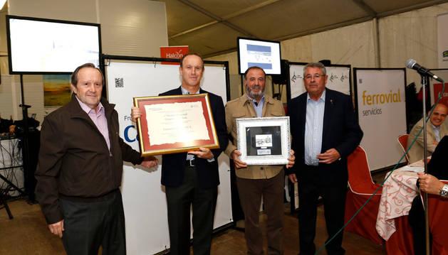 Rafael Remírez de Ganuza, Pedro y José Herrera, y Enrique Castel-Ruiz.