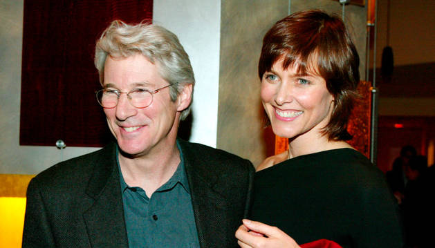 Richard Gere y Carey Lowell.