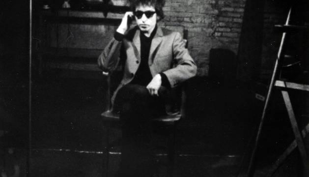 Bob Dylan, retratado por Warhol.