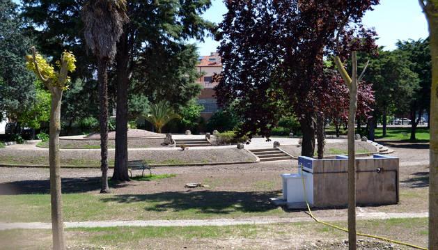 El parque de San Adrián.