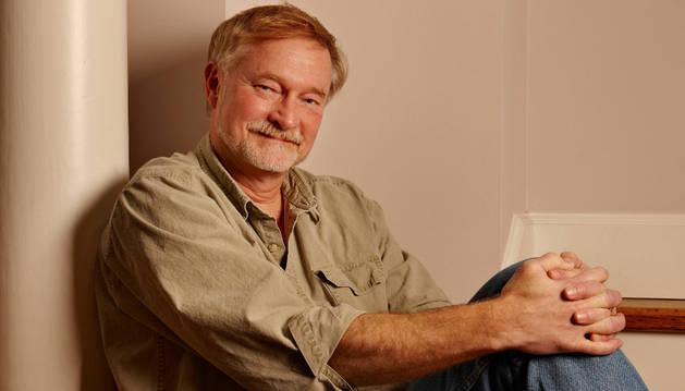 El escritor Erik Larson.