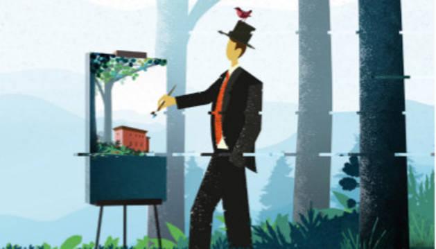 Concurso de pintura al aire libre en el Molino de San Andrés el 7 de junio