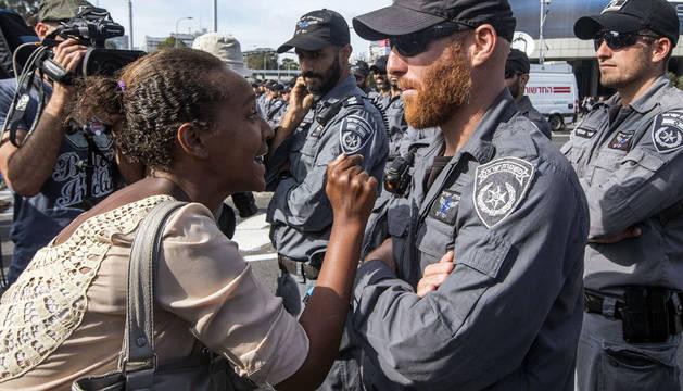 Al menos 63 heridos en las protestas de emigrantes etíopes en Israel