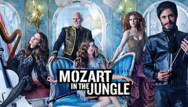 'Mozart in the Jungle', la música clásica más salvaje