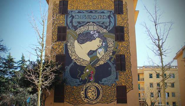 Roma propone sus murales como recorrido turístico