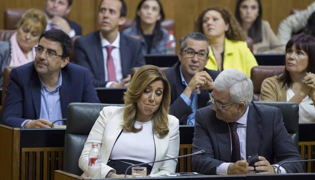 SEGUNDA JORNADA DEBATE INVESTIDURA SUSANA DÍAZ EN PARLAMENTO ANDALUCÍA