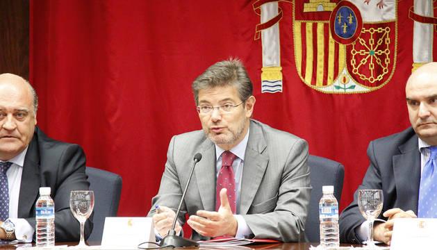 Reunión sala de Gobierno, Palacio de Justicia