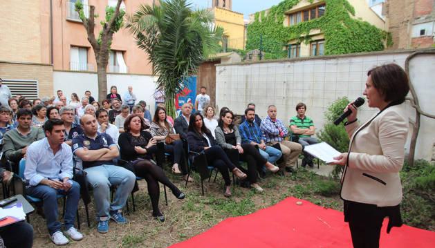 Mariví Castillo, durante la presentación de su programa.