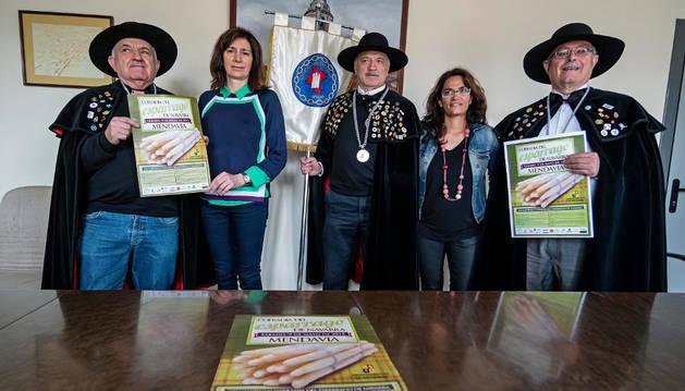 Miguel Yaben, María José Verano, Enrique Sánchez, Marta Caro y Miguel Soria.