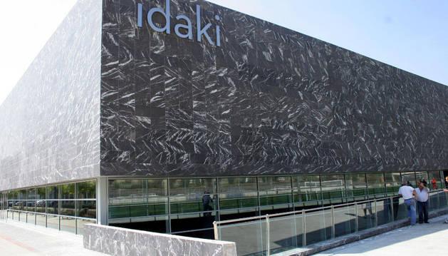 Vista del complejo Idaki.