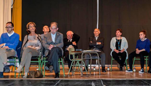 Inauguración de los actos en Remontival.