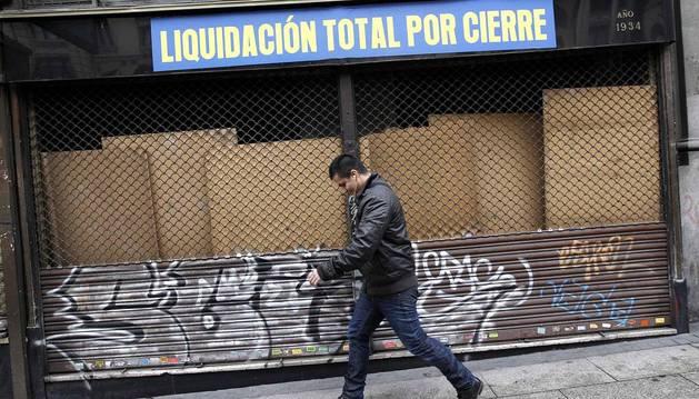 Las empresas y familias en quiebra descienden en el primer trimestre