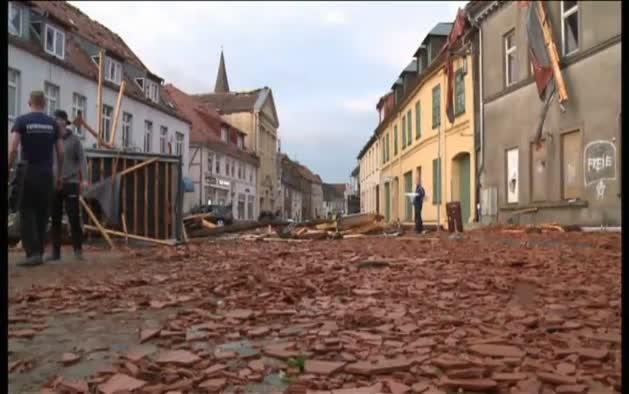 Muere un hombre en Hamburgo tras el paso de un tornado