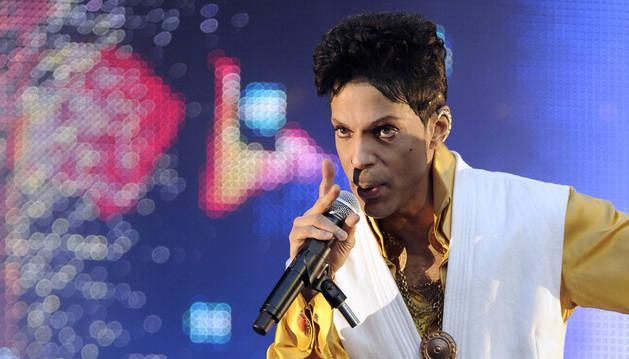 El músico Prince.