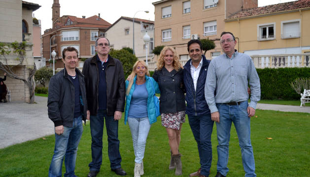 Algunos de los integrantes de la emisora.