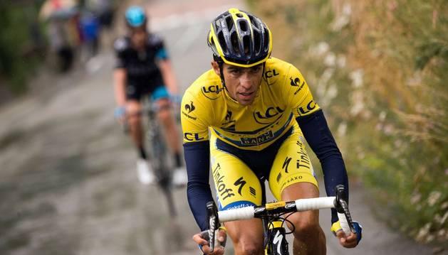 Contador, en la Dauphiné.