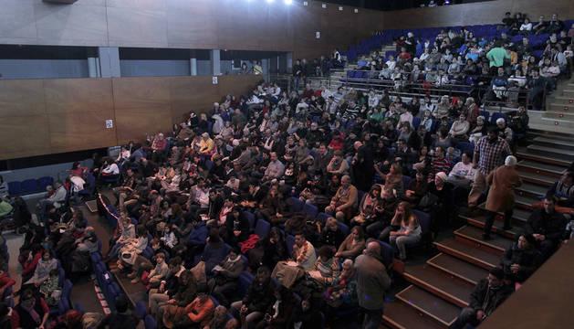 Auditorio de la Casa de Cultura de Burlada.