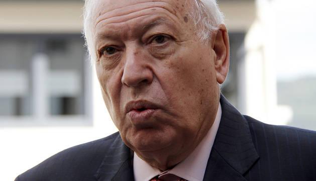 Visita del ministro García-Margallo a Pamplona