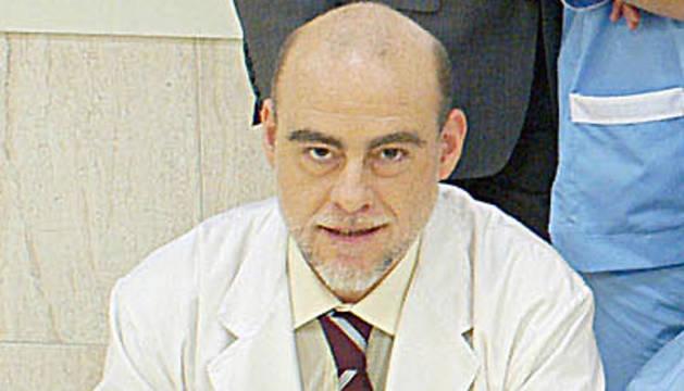 El actor en una imagen de 2003 durante su participación en la serie 'Una nueva vida'.