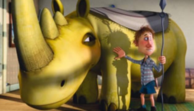 'Otto, el rinoceronte', cine infantil en Tafalla