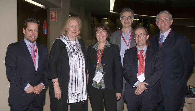 Varios de los expertos presentes en el congreso.
