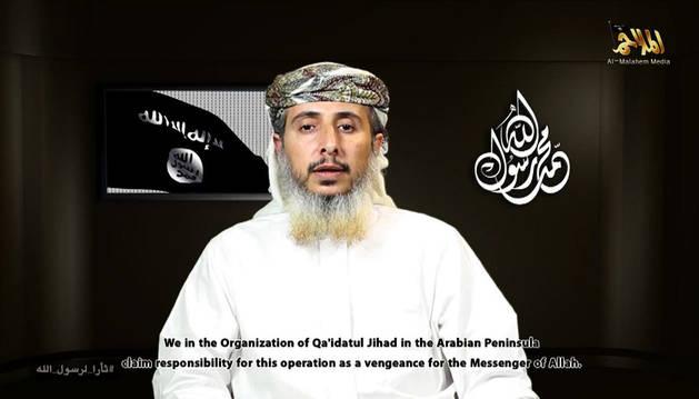 El líder de Al Qaeda en la Península Arábiga (AQAP), Nasser Ibn Ali Al Ansi.