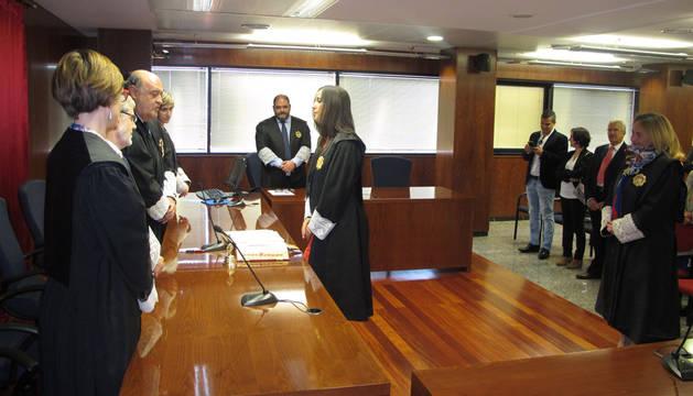 La titular del Juzgado número 1 de Tafalla asciende a magistrada