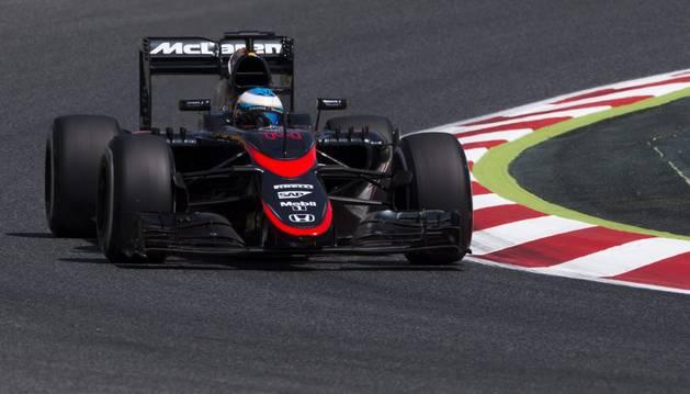 Alonso, en Montmeló.